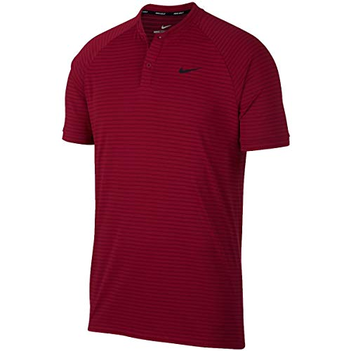 (Nike Golf TW Tiger Woods Zonal Cooling Polo 932175 (Large, Red Crush))