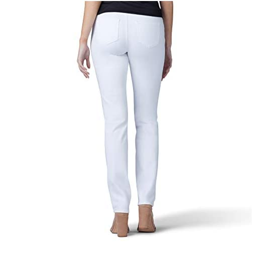 LEE Women's Sculpting Fit Slim Leg Pull on Jean 4