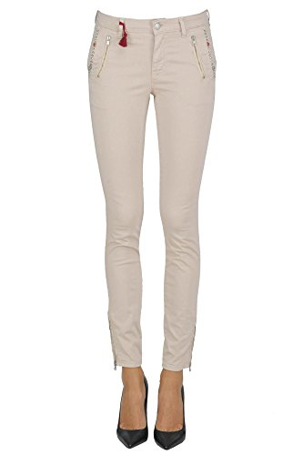 Mason's Pantaloni Donna MCGLPNS03012E Cotone Beige