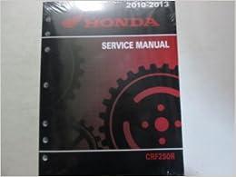 2010 HONDA CRF250R CRF 250R Service Repair Shop Manual FACTORY BRAND NEW 2010