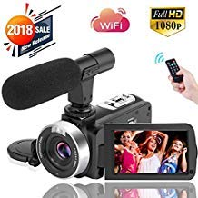 Digital Video Camera WiFi Camcorder Full HD...