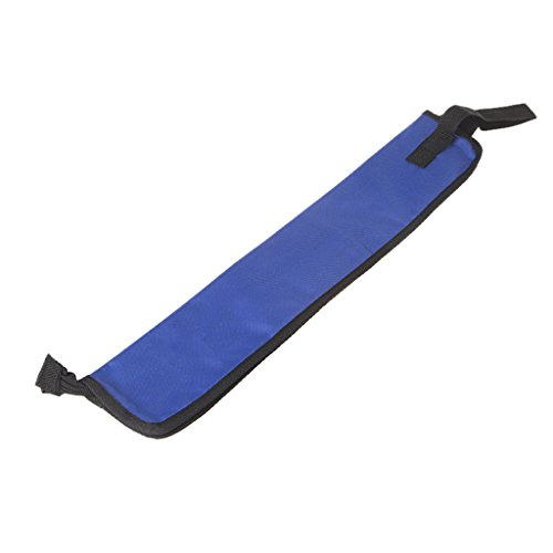 ULKEMEDrum Stick Bag with Handy Strap Waterproof Drumstick Carrying Case Cloth Design Blue