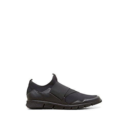 Kenneth Cole New York Neopren Läder Sneaker - Mens Svart