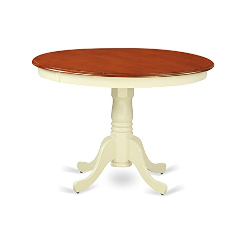 East West Furniture HLT-BMK-TP Hartland Table 42