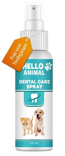 NEU: HelloAnimal® DENTAL Spray für Hunde und Katzen – Zahnsteinentferner auch für Zwischenräume – Zahnreinigung und…