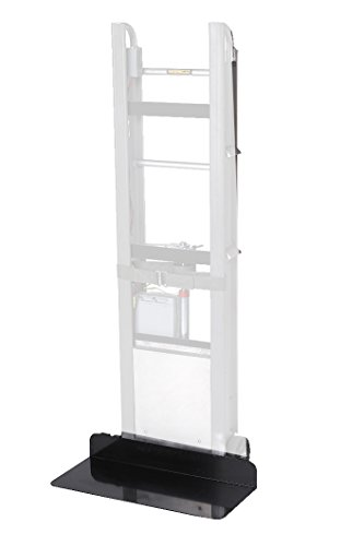 """Wesco 230055 StairKing Battery Powered Stair Climbing Appliance Truck Steel Nose Extension Option, 850-lb. Capacity, 28"""" Width x 4"""" Height x 12"""" Depth"""
