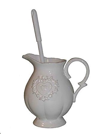 Toilettenbürste Vintage Klobürste Nostalgie Keramik Amazonde