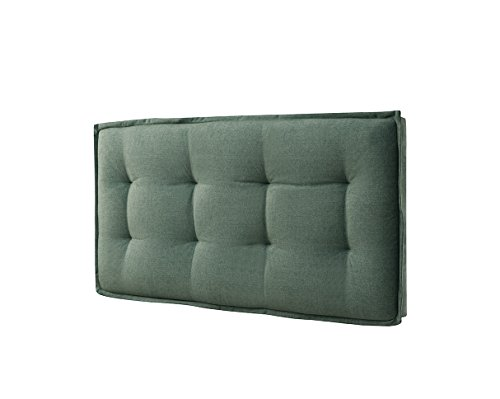 Eagle Furniture EAG1980Q1FGN Sadi Tufted Headboard with Z-Bar EZ Mount Hardware, Queen, Faded Green -  Eagle Furniture Manufactures