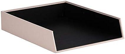 Rössler 1335452580 S.O.H.O. - Juego de mesa [Importado de Alemania] Bandeja organizadora para DIN A4, apilable, color blanco: Amazon.es: Oficina y papelería
