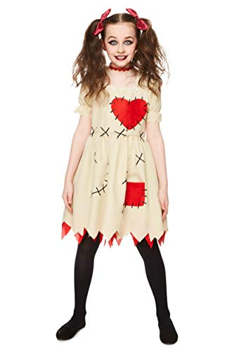 Girl's Voodoo Doll Costume X-Large ()