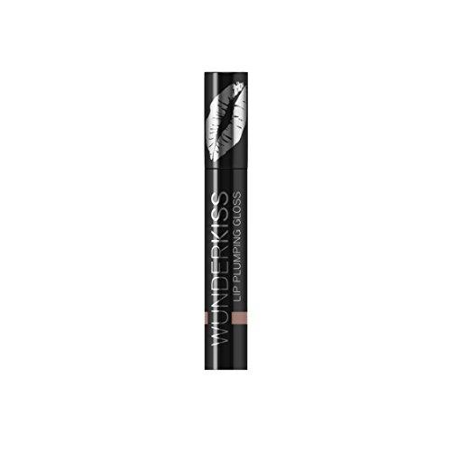 WUNDER2 WUNDERKISS Plumping Lip Gloss - Lip Plumper for Hydrated and Voluminous Lips, Nude Color by Wunder2