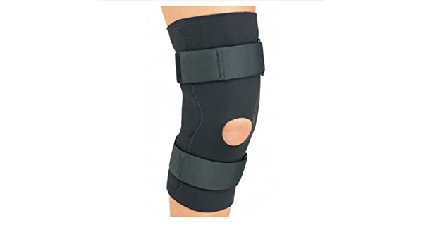 a51c3abb2d Amazon.com: DJO ProCare Neoprene Knee Support Large Black: Health &  Personal Care