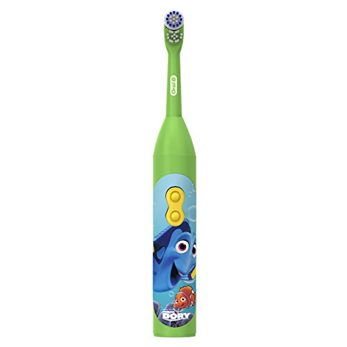 Disney Brush - Oral-B Pro-Health Stages Battery Powered Kids Toothbrush featuring Disney's Finding Dory, Extra Soft Bristles, 1 Count