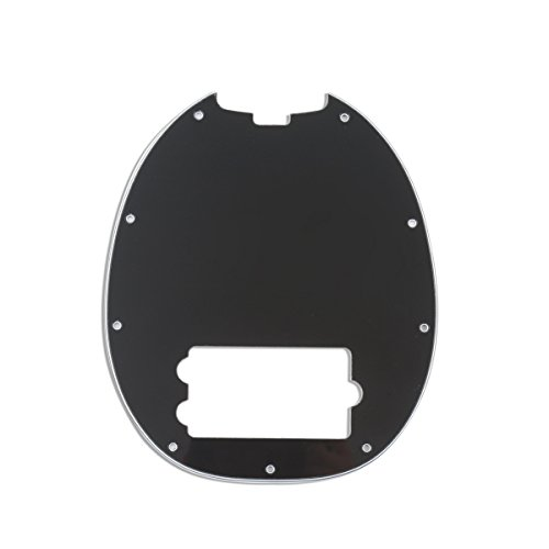 pick guards 3ply hole bass pickguard scratch plate for musicman mm stingray 700115952330 ebay. Black Bedroom Furniture Sets. Home Design Ideas