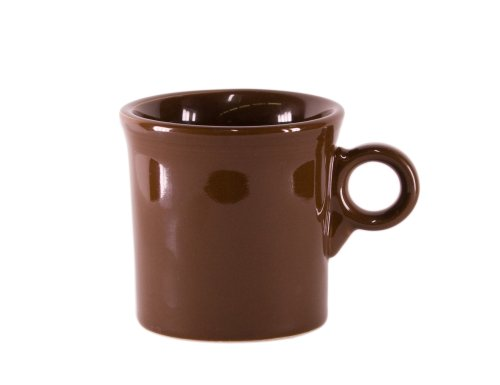 Fiesta 10-1/4-Ounce Mug, Chocolate - Homer Laughlin Fiesta Chocolate