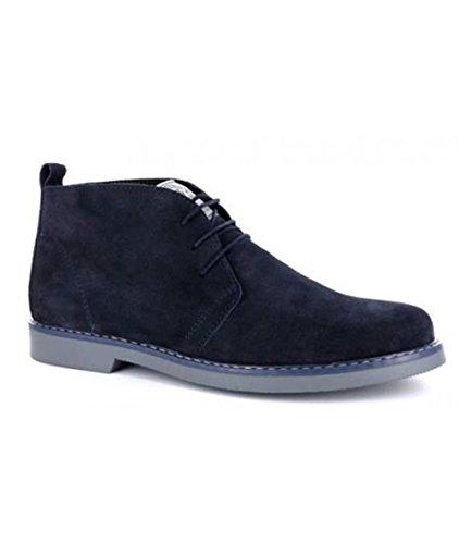 Blu MADE Stivali IN uomo ITALY 100 Blue qFwSRz6xH
