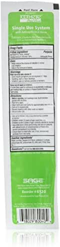 Toothette® Oral Care Plus Swabs with Alcohol-Free Mouthwash - Inner Carton (5.