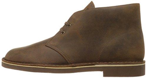 Clarks Men's Bushacre 2 Desert Boot,Beeswax Leather,9.5 M US