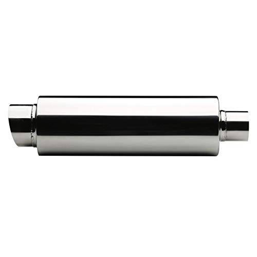 HABILL-AUTO Silencieux Embout /échappement Universel Rond INOX 485mm