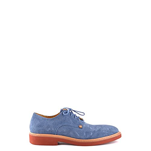 cde19479e52 CESARE PACIOTTI MEN S MCBI068037O BLUE SUEDE LACE-UP SHOES 60%OFF ...
