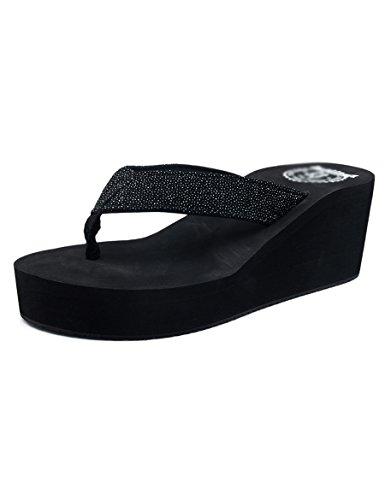 Personajes de tacón alto Zapatillas femeninas de verano Zapatillas sandalias impermeables de moda ( Color : A , Tamaño : EU36/UK3.5/CN35 ) A