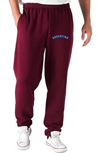 Wc1285 Rosso Pantaloni Shirt Speed Tuta Maglietta Argentina Logo n81PFxqI