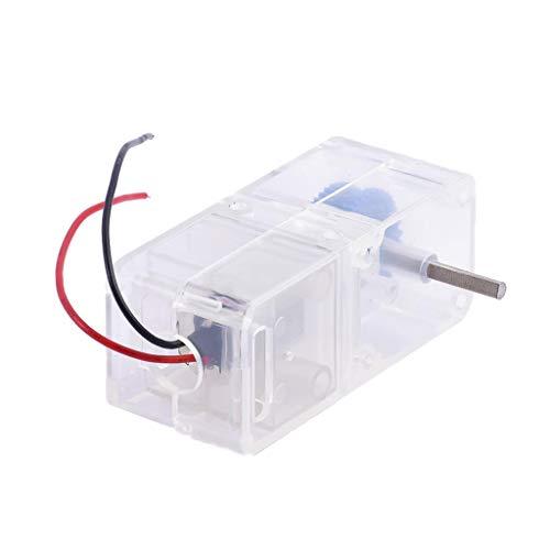 B Blesiya DC1.5-4.5V 1:94 Electric Gear Motor Reducer Gearbox for Car Model Robot DIY ()