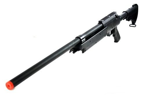 470 fps wellfire aps sr-2 modular full metal bolt action sniper rifle mb06a(Airsoft Gun)