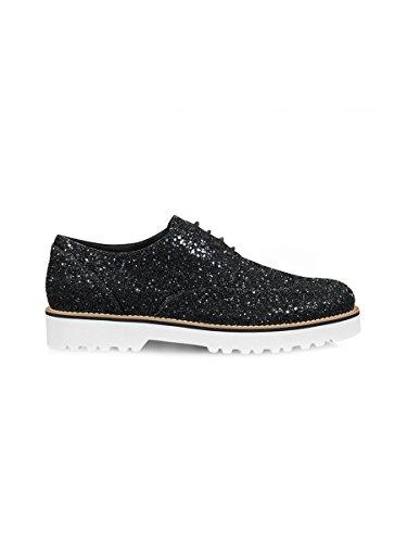 Hogan Noir À HXW2590S112L04B999 Cuir Femme Lacets Chaussures PprPwqZ0x
