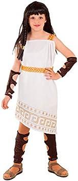 DISBACANAL Disfraz Romana Patricia niña - -, 12 años: Amazon.es ...
