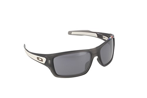 Oakley Men's Turbine OO9263-16 Rectangular Sunglasses, Grey Smoke, 65 - Tour Sunglasses De France