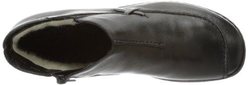 Rieker M0683 - Botines de cuero mujer negro - Schwarz (schwarz/schwarz 00)