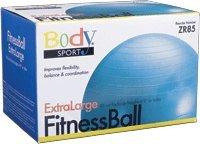 Cheap Fitness Ball, 85 Cm, Teal
