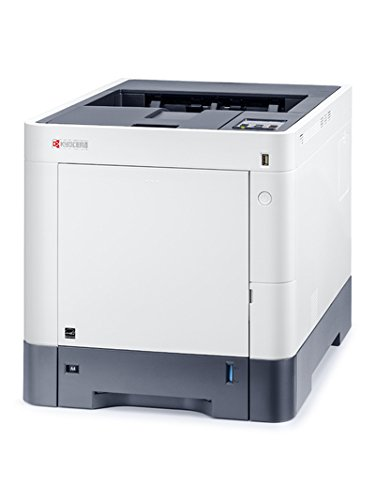 Kyocera 1102TV2US1 ECOSYS P6230cdn Color Laser Printer, Up to 32 PPM, Up to 1200 DPI Printing Quality, 100000 Pages a Month, Mobile Printing Supported, Self Explaining Wi-Fi Connection