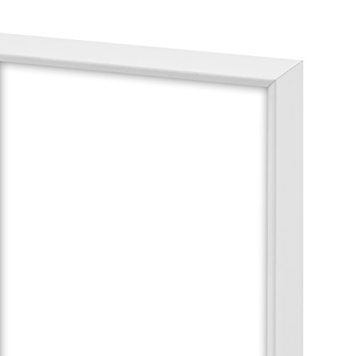 Framatic Fineline 8x10 Inch Aluminum Frame, White (302150)
