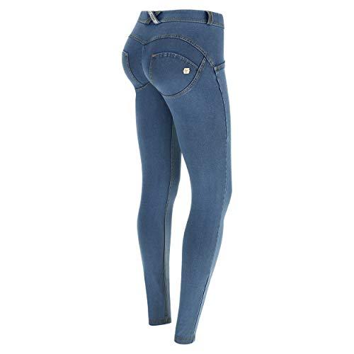 Fred Perry Pantalon WR.UP? Skinny Taille et Longueur Classiques en Denim fonc Denim