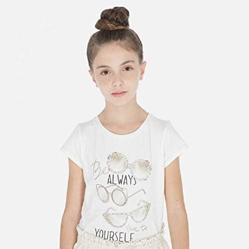 mayoral 6012 T-Shirt /à Manches Courtes pour Fille