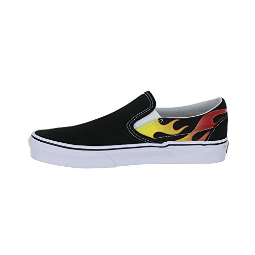 Vans Old Skool Platform Shoes (Flame)Black/Black/ White cheap sale shop offer sale online free shipping marketable free shipping supply authentic for sale jwGT0M1xjv