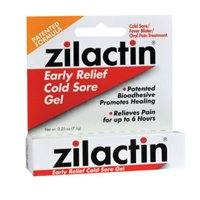 Blairex Blairex Zilactin Cold Sore Gel, 0.25 oz (Pack of - Cold Zilactin Sore