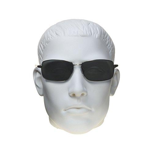 Y De Hombres Alta De Metal Duradero Polarizadas Níquel Marcos Bifocales Medio Polarizadas Negro De Tac Con Premium Gafas De Los Sol proSPORTsunglasses Lentes 6RAvAw