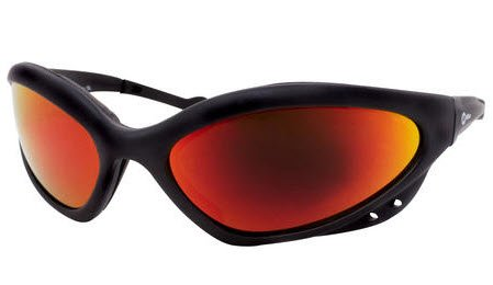 Miller 235656 Black Frame Smoked Lens Safety Glasses by Miller Electric