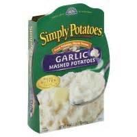 SIMPLY POTATOES MASHED GARLIC POTATOES FROZEN FOOD 24 OZ PACK OF 2