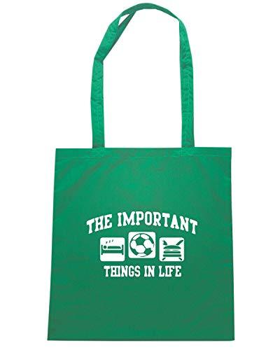 THINGS WC1212 Shopper Shirt Borsa Verde IMPORTANT Speed qOZSYwY