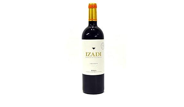 Izadi Crianza 2015, Vino, Tinto Crianza, Rioja, España: Amazon.es: Alimentación y bebidas