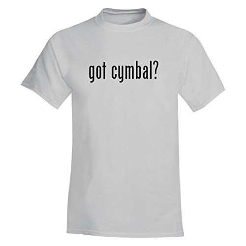 The Town Butler got cymbal? - A Soft & Comfortable Men's T-Shirt, White, -