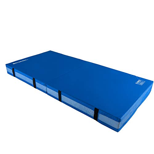 We Sell Mats Bifolding Gymnastics Crash Landing Mat Pad, Safety for Tumbling, Back Handspring Training and Cheerleading, Multiple Colors