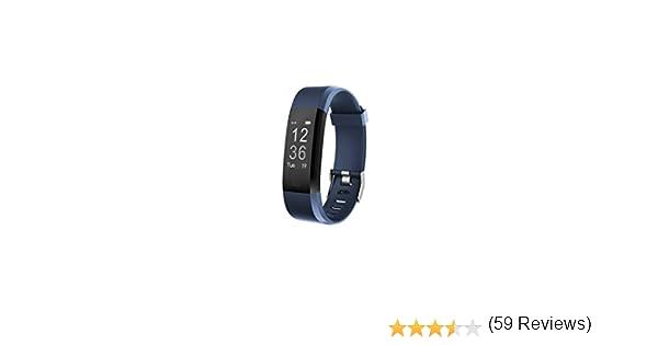 Toksum Boost 2 Slim Fitness Tracker Pulsera Inteligente | Portátil Pantalla táctil Impermeable Actividad Tracker podómetro Reloj Pulsera con Monitor de sueño | para niños, Mujeres y Hombres: Amazon.es: Deportes y aire libre