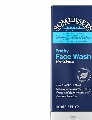Somersets Frothy Face Pre-shave Wash 3.3 OZ by - Somerset Shopping Mall