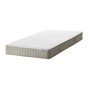 Ikea Hafslo – colchón de muelles, Firme, Beige – 3 Single