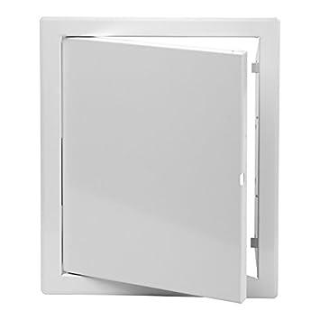 Revisionsture Weiss 15 X 20 Cm Mit Klickverschluss Glattes Turblatt
